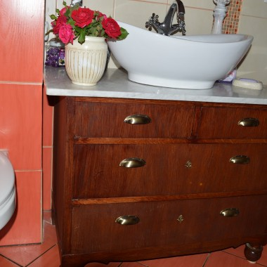 Nowy pomysł w łazience...