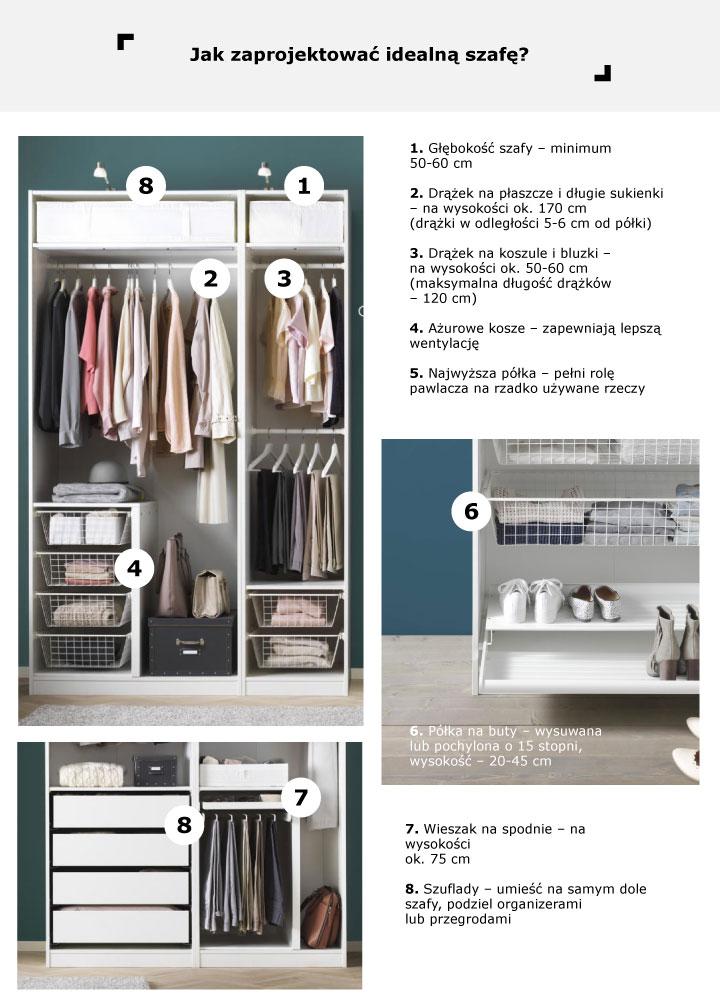 Jak Zaprojektować Szafę W Sypialni Lub Małą Garderobę By