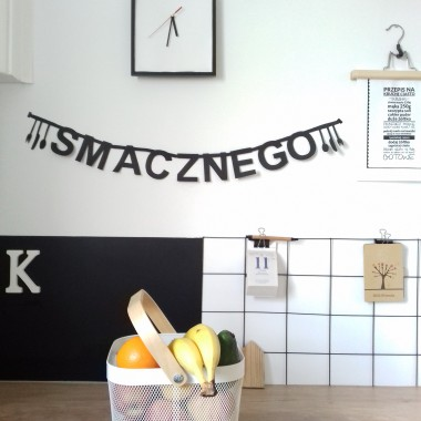 DIY Baner literowy