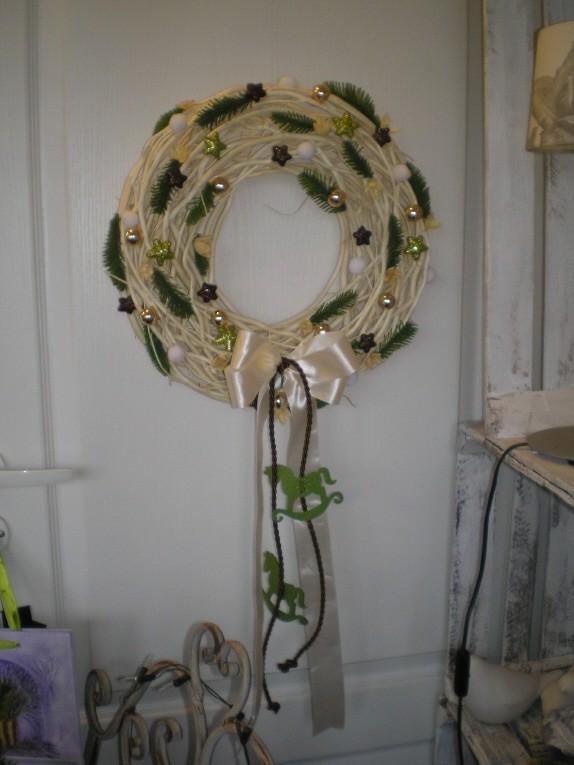 Salon, ...w świątecznym nastroju