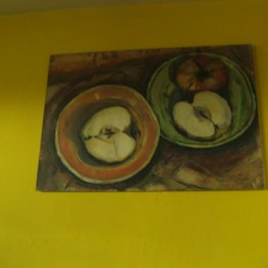 obraz namalowany przez koleżankę plastyczkę
