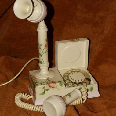 TELEFON MALWA Z 1979 ROKU DECOUPAGE