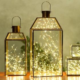 Dekoracyjne diody LED na cienkim druciku