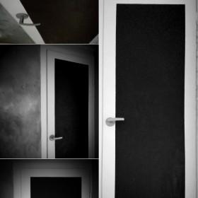 Metamorfoza starych drzwi z szybą