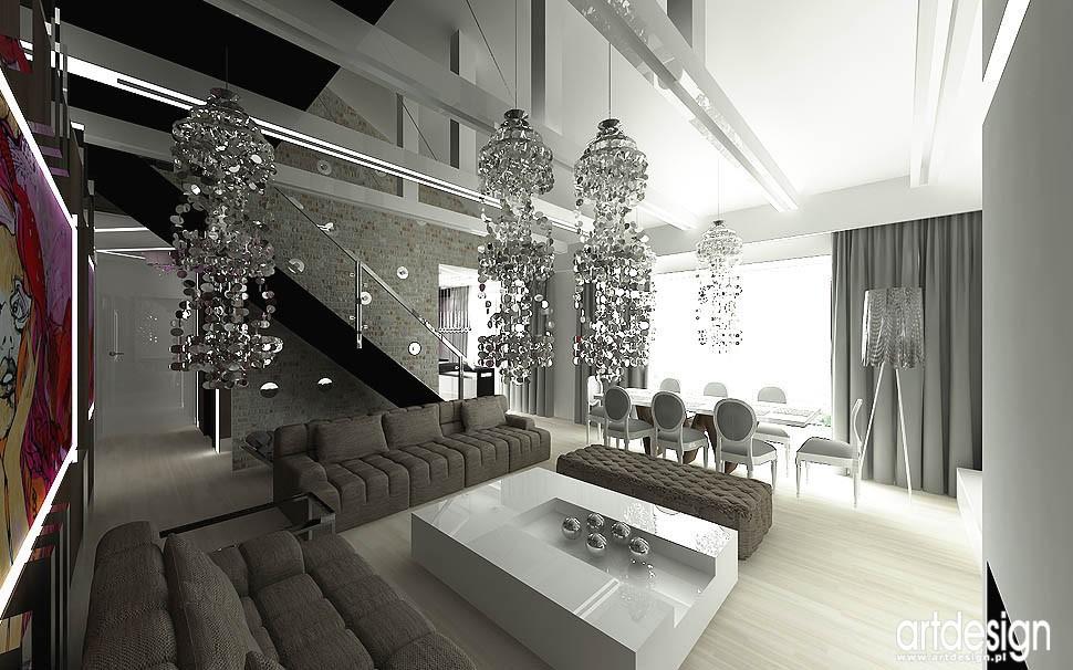 Pozostałe, apartament w Krakowie - aranżacja wnetrz