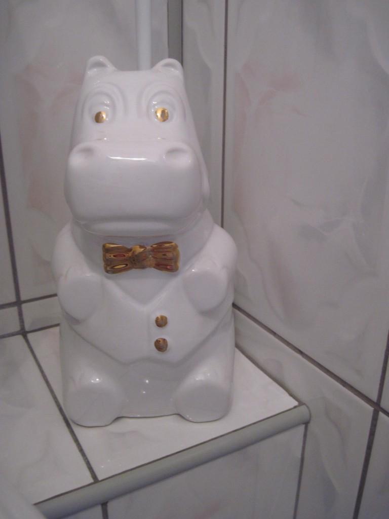 Moja mini toaleta .......