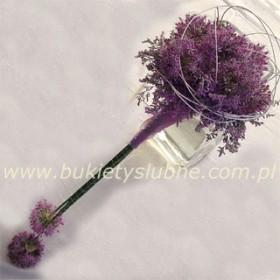 Mój ślub w odcieniach fioletu:)