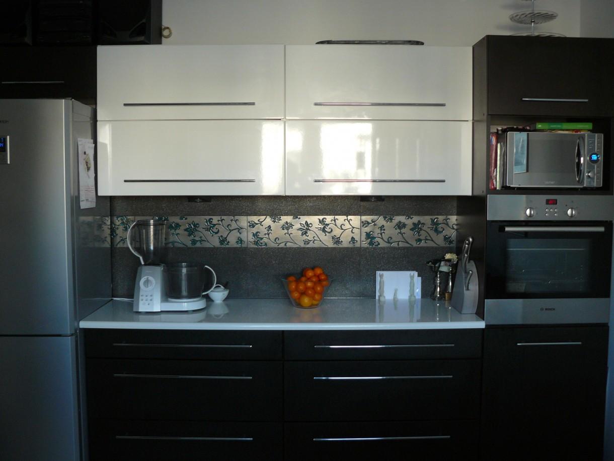 Kuchnia, Kuchnia, sypialnia i przedpokoj - Kuchnia