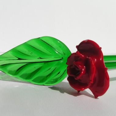 Ręcznie wykonana,szklana róża Mdina Glass juz w sprzedaży w sklepie Szklana Malta http://allegro.pl/roza-szklana-rekodzielo-mdina-glass-malta-i4192354549.html