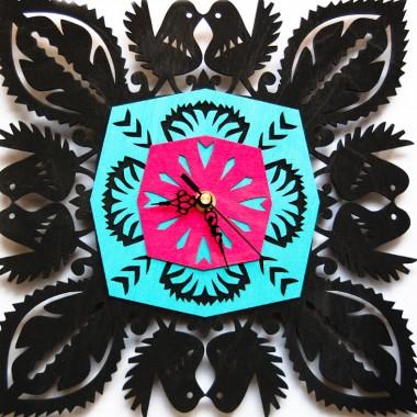 Folkowe zegary www.sklepludowy.pl