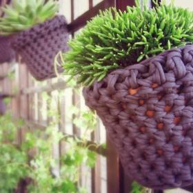 Ogródek trochę szydełkowy &#x3B;)