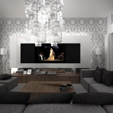 Reality Dream - projekt wnętrza nowoczesnego domu.
