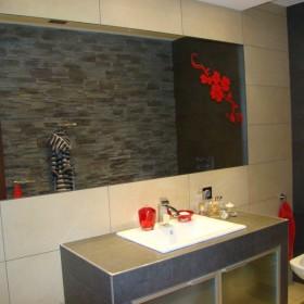 Szara łazienka na poddaszu :)