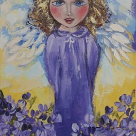 Obrazki z aniołkami