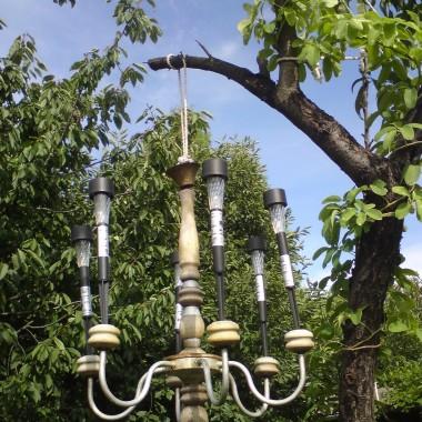 solarny żyrandol ogrodowy &#x3B;)