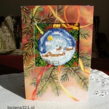 Świąteczna kartka od Kokardki
