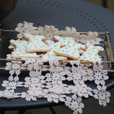 Dojadamy świąteczne ciasteczka made by Kasia :)